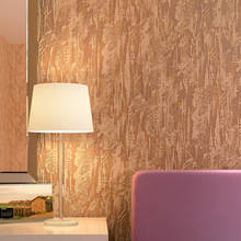 цена на Solid Color Mottled Non-woven Wallpaper Simple Modern Living Room Bedroom TV Background Wall Paper Roll