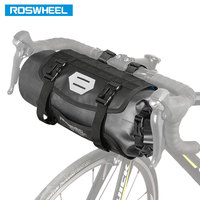 ROSWHEEL Hot New 7L Bicycle Bag MTB Bike Handlebar Front Basket PVC Water Proof Pannier Pouch Cycling Luggage Container 111369