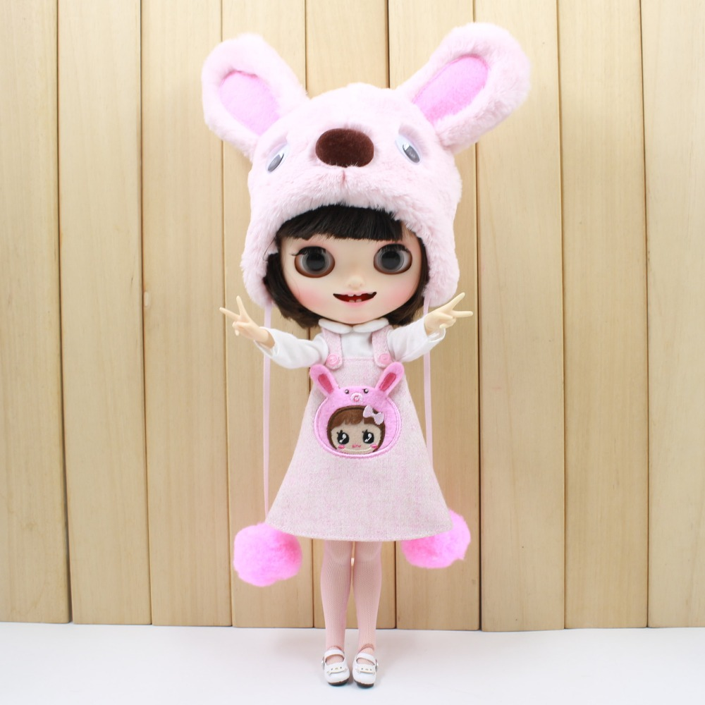 Neo Blythe Doll Bear Suit with Full Set 2