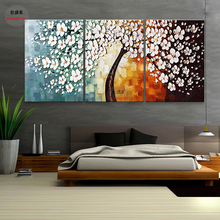 3 Piece Canvas Art Wall Pictures For Living Room Oil Painting Abstract Prints Paintings Picture 3p 004