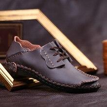 Men Leather Shoes Casual 2017 Autumn Fashion