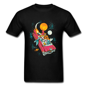 T-Shirt Fantasy Voyage Aircraft Jojo Geek Normal Tops Tees Java Hop Camisetas Hombre Men T Shirts Classic Tee Shirts Neck image