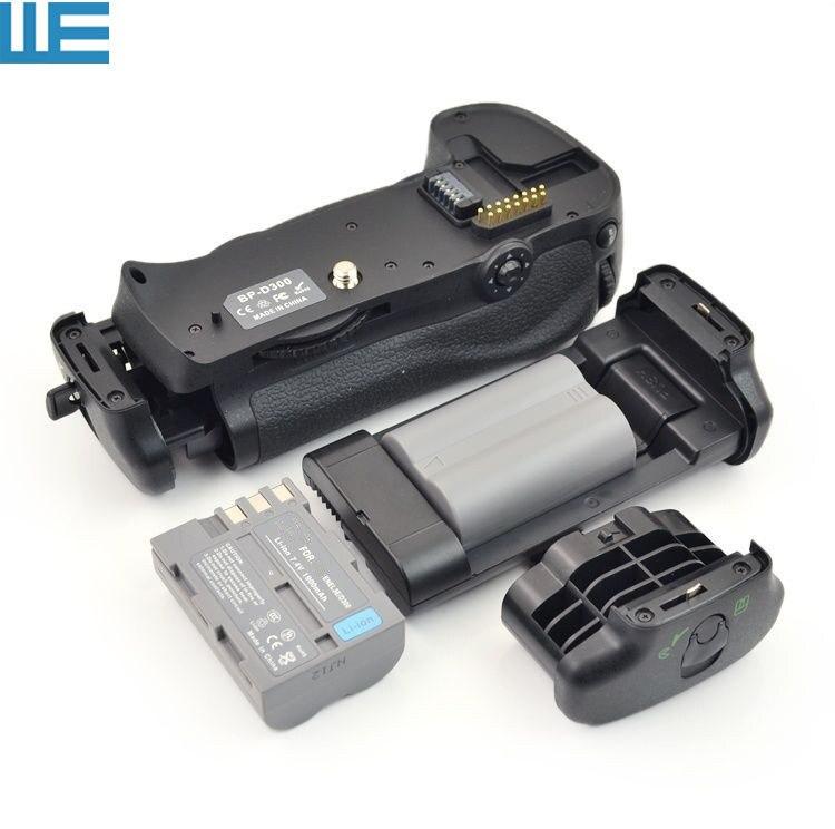 bilder für MB-D10 Batteriegriff + 2X EN-EL3E Batterien + BL-3 Batteriekammer Abdeckung für Nikon D300 D300s D700 SLR Kameras.