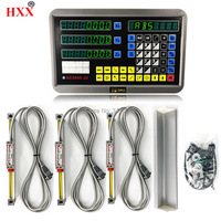 level measurable tools dro kit digital readout display gcs900 3d with 3 pcs linear scales/encoder/sensor 2 to 40 for machine