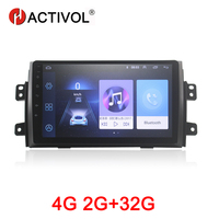 HACTIVOL 2G+32G Android8.1 Car Radio for Suzuki SX4 2011 2016 for Fiat sedici 2006 2010 car dvd player gps navi car accessory 4G