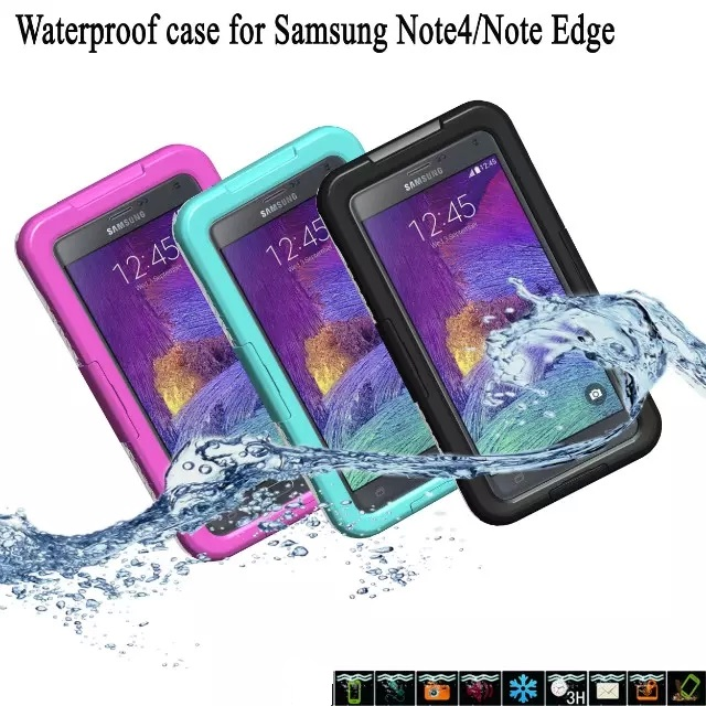 100 Waterproof Case Shockproof Gel Touch Screen Cover For Samsung