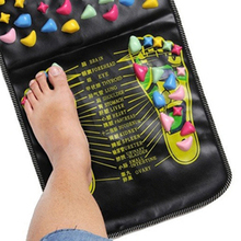 82WG1652016 New Arrival  Chinese Walk Stone Pain Relieve Foot Leg Massage Mat Health Care Acupressure