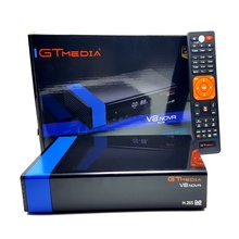 10 pièces GTMEDIA V8 NOVA récepteur de télévision par Satellite Orange ou bleu DVB S2 prend en charge le Satellite EPG WIFI Ethernet intégré 3G