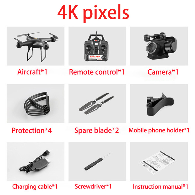 S32T 4K Drone With camera rotating HD quadcopter With 1080P Wifi FPV Drone Professional Drone flight 20 minutes RC helicopter