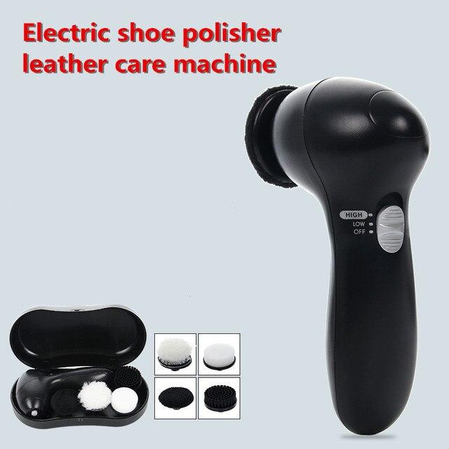 แบบพกพาไฟฟ้าขัดรองเท้า Handheld ขัดรองเท้าหนังเครื่องรองเท้าหนังน้ำมันบำรุงรักษาเครื่องขัด