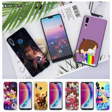 Transparent Soft Silicone Phone Case Gravity Falls Family Art for huawei P Smart Nova 3i P20 P10 P9 P8 Lite 2017 Pro Plus