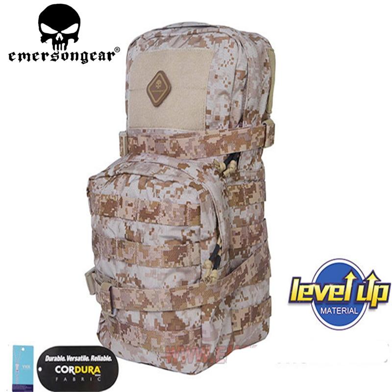 Marine sceaux modulaire assaut Pack w 3L sac à dos hydratation Paintball Airsoft multi-fonction Molle sac à bandoulière sacs de chasse