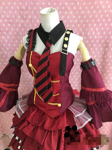Tsuki uta motomiya matsuri cosplay traje hloween trajes vestido personalizado