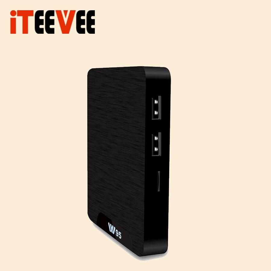 10PCS Amlogic S905W W95 Android 7 1 TV Box Quad Core 2 4G WiFi H 265