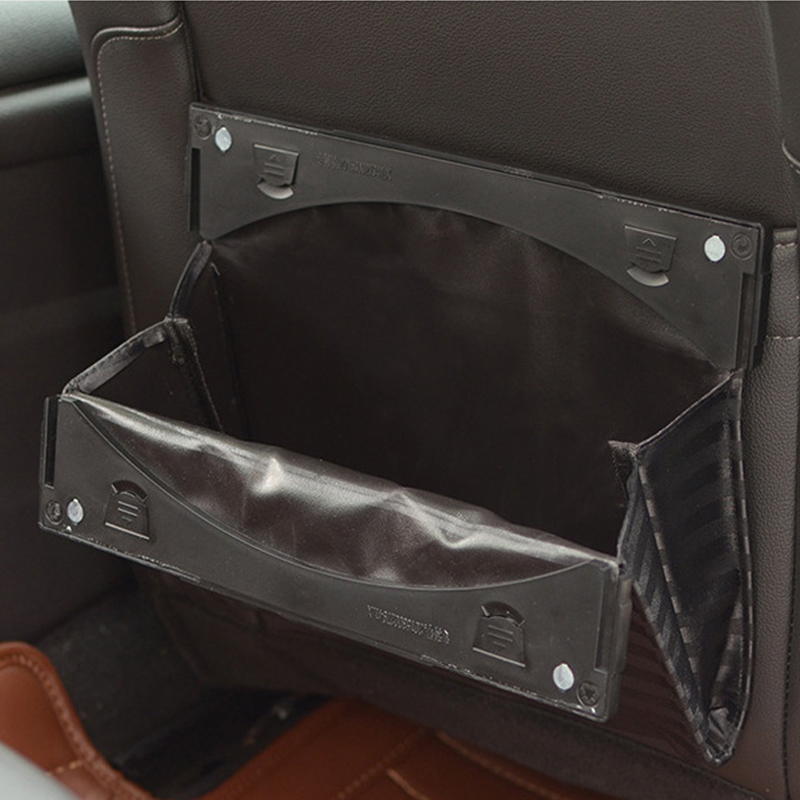 car back seat bag Car back seat trash bag foldable Plastic car trash Large capacity hanging car storage bag ABS PP cloth in Stowing Tidying from Automobiles Motorcycles