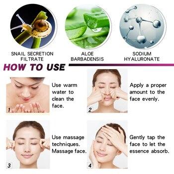 VitaminC Snail Serum Rejuvenation Anti Wrinkle Firming Bright Skin Serum For Face Ance Treatment Snail VC Collagen Repair Serum