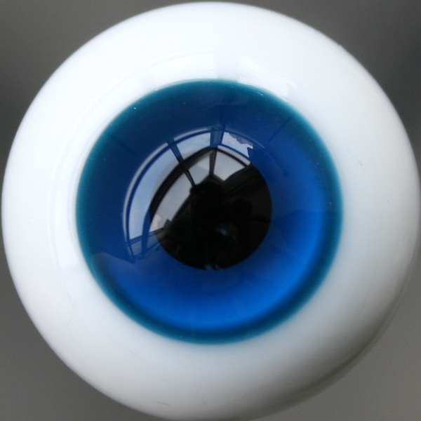 New 12mm Blue Glass Eyes Outfit For AOD DOD DZ BJD Doll Dollfie