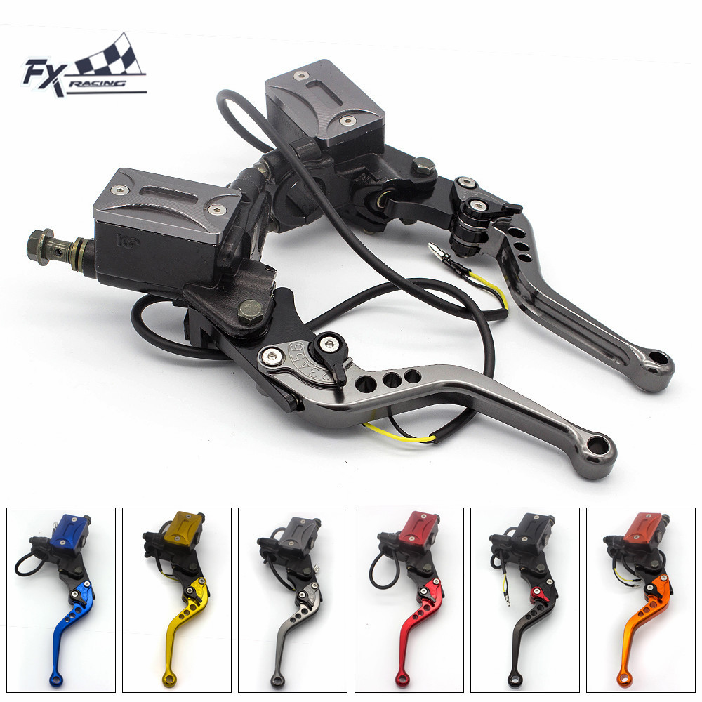 22mm Universal Motorcycle Master Cylinder Brake Clutch Lever Hydraulic Clutch For Honda CBR250R CBR300R CB300F CMX250 MSX125 22mm Universal Motorcycle Master Cylinder Brake Clutch Lever Hydraulic Clutch For Honda CBR250R CBR300R CB300F CMX250 MSX125