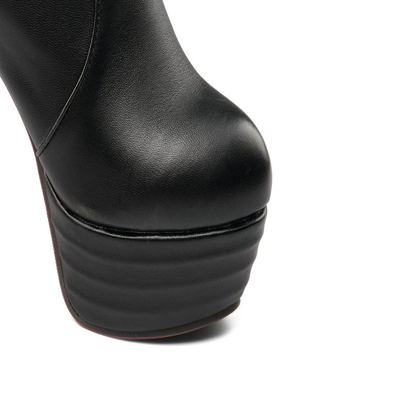 5 Zapatos Primavera Talón 13 La Mujeres Otoño Mujer Negro marrón Botas Fiesta Personalidad Nuevas De Cm Y Moda Sobre Alto blanco Rodilla qCgpa55O
