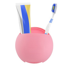 Plastic Sucker Toothpaste Toothbrush Holder Suction Hooks Cups Hang On Bathroom Ware Sucker Wall Storage Box Accessories sweet lovers keys storage hooks with memo pad set suction cups 1kg max load