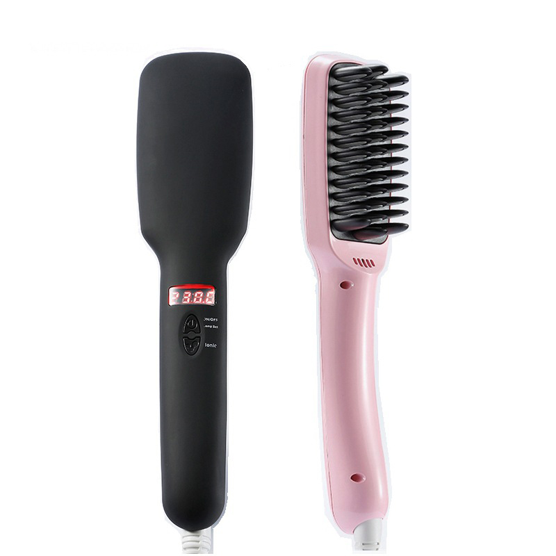 New Professional Hair Straight Comb Hair straightening iron Corrugated Iron Hair Care Styling Tools EU/US hair care hight quality real ebony black comb 1 piece health care hair styling tools hair brushes best gift