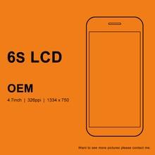 5 pces oem qualidade para iphone 6 s lcd 4.7 polegada de tela com toque digitador assembléia com toque 3d para iphone 6 s tela