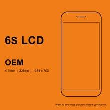 5 pièces OEM qualité pour iphone 6S LCD 4.7 pouces écran daffichage avec tactile numériseur assemblée avec 3D tactile pour iphone 6S écran