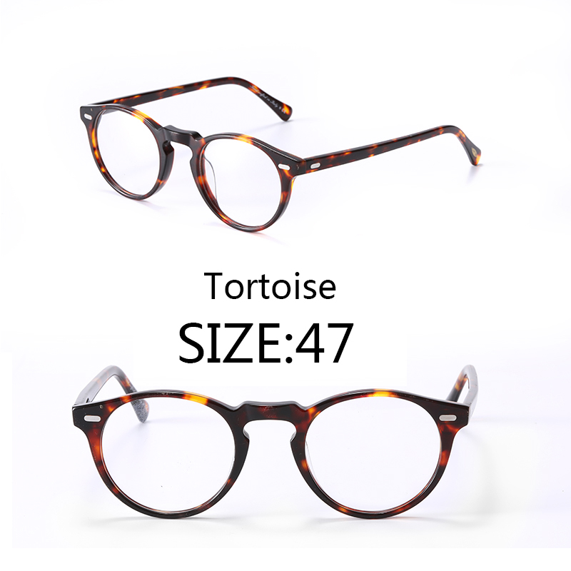 Gregory peck Vintage optische rahmen brillen lesebrille frauen und männer klar rahmen Größe 47-in Brillenrahmen aus Kleidungaccessoires bei AliExpress - 11.11_Doppel-11Tag der Singles 1