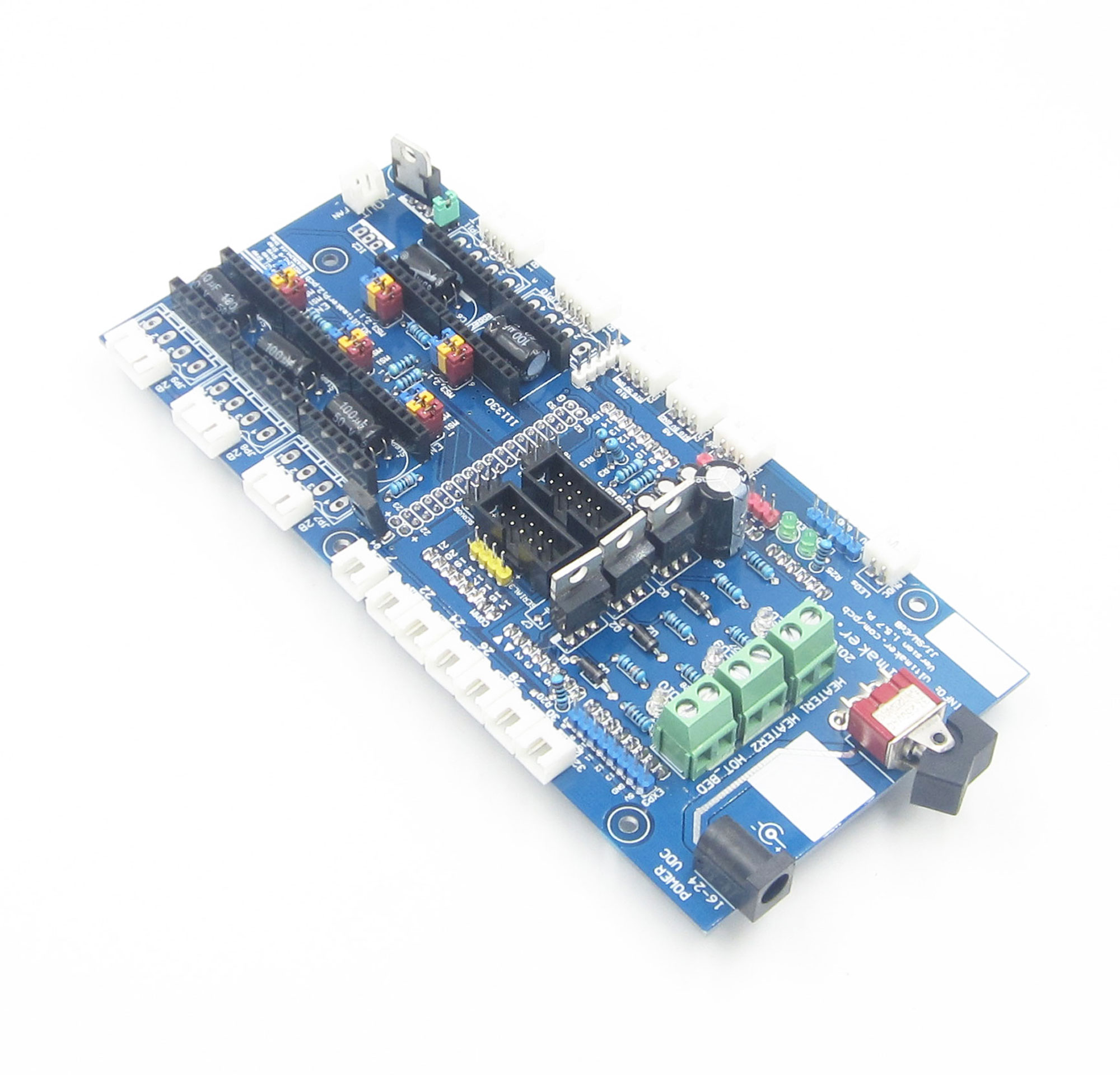 Ultimaker Controller Board 3d Printer Compatible With Pololu Stepper The Stepperdriver Interface Uses Power Mosfets Driver In Smart Remote Control From Consumer Electronics On Alibaba