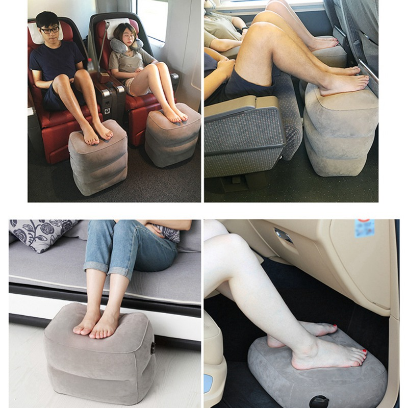 Decorative Pillows Travel Foot Rest Inflatable Travel