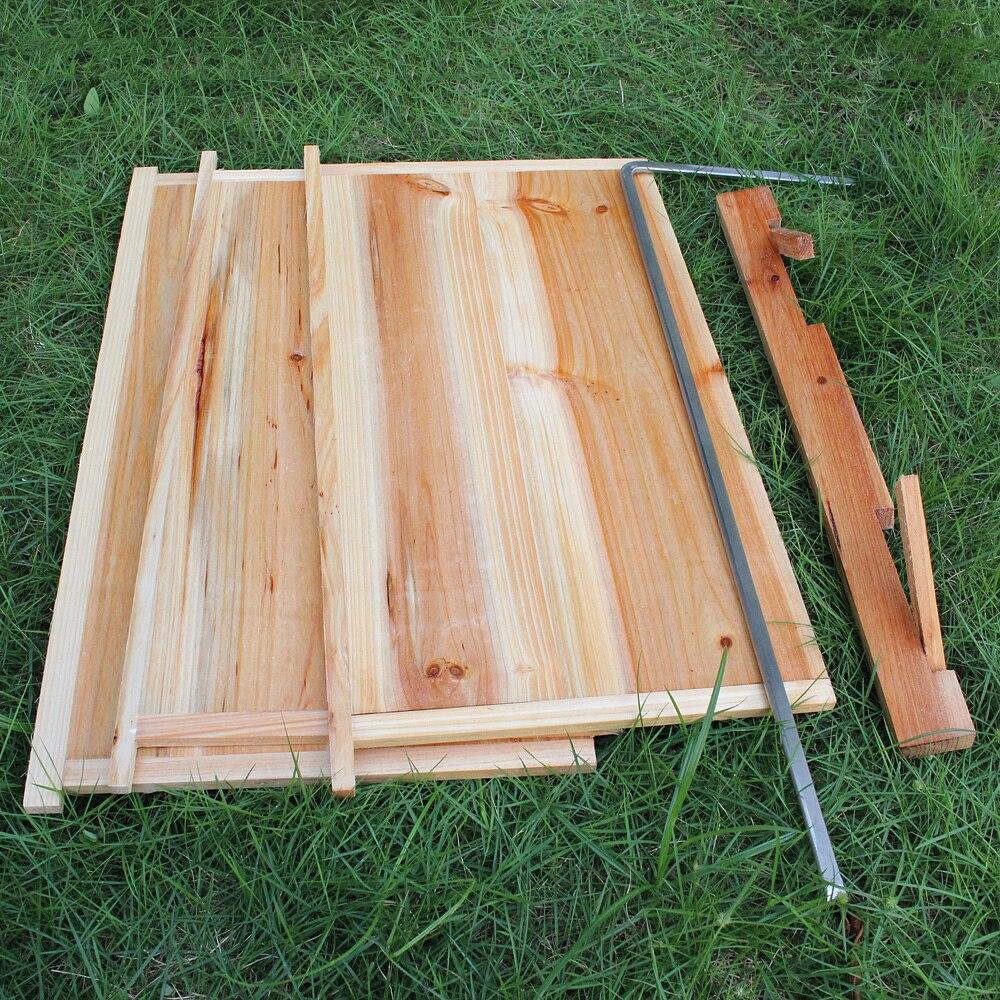 Automatische Holz Bee Hive Haus Holz Bienen Box Bienenzucht Ausrüstung Imker Werkzeug für Bee Hive Versorgung 66*43*26cm Hohe Qualität - 6
