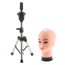 21 Bald Female Cosmetology Mannequin Wig Display Head Stand Hat Rack Combo