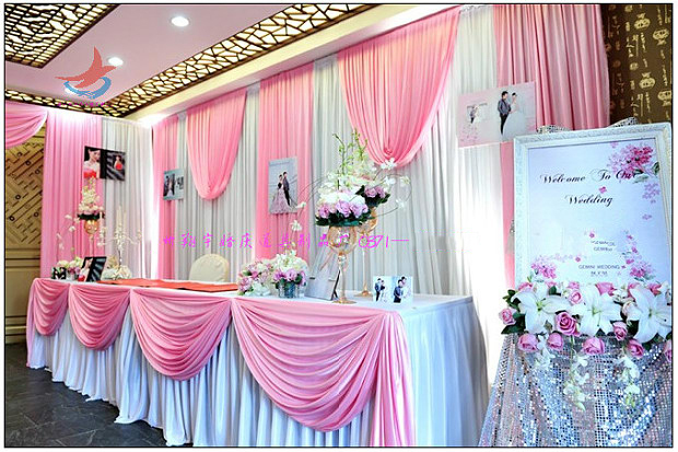 Wedding 3mx6m Backdrop Stage Background Mariage Decoration Compound