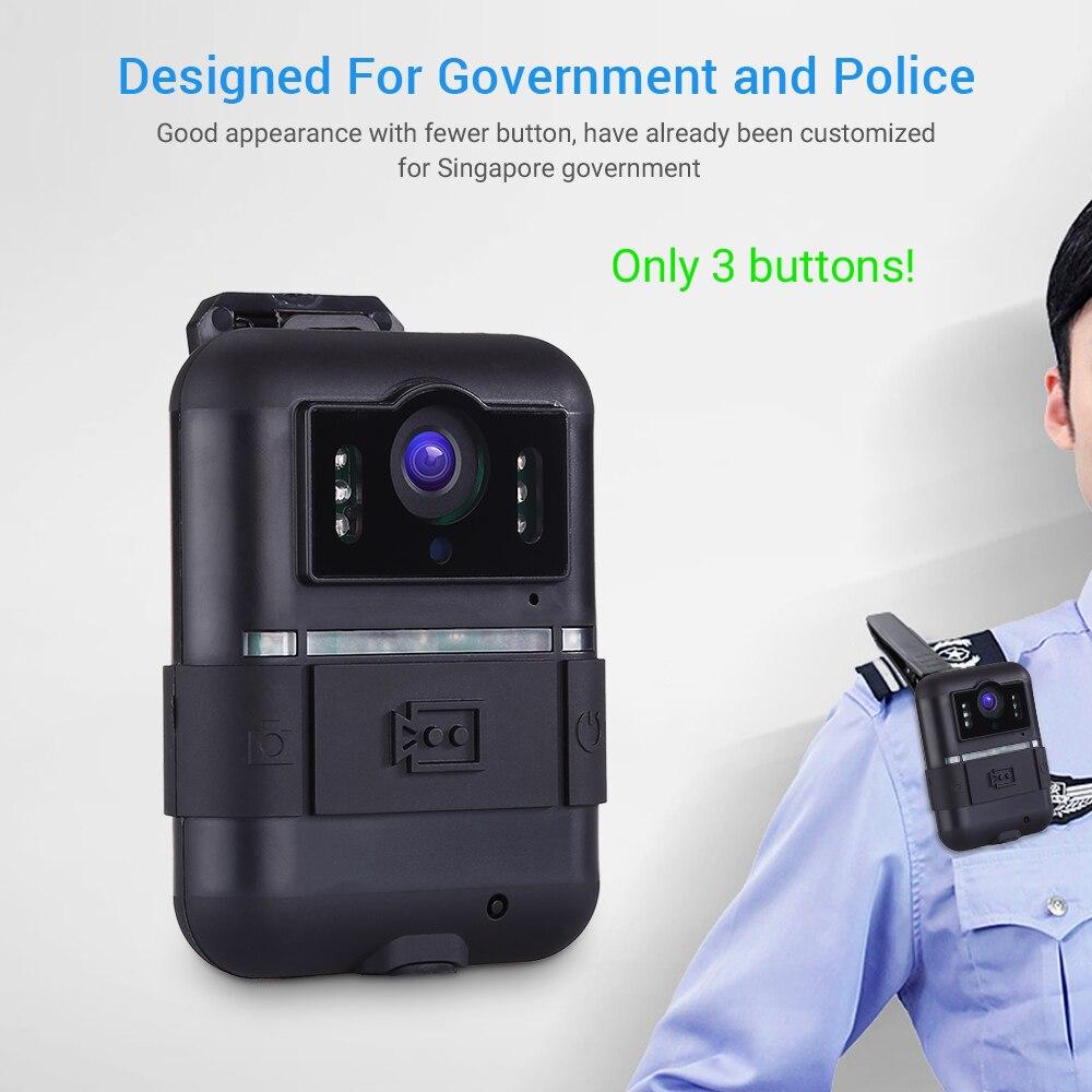 Boblov câmera vestida corpo wifi 32 gb wn11 1296 p novatek 96658 ultra hd 1296 p câmera da polícia 360 rotação clipe de visão noturna camara