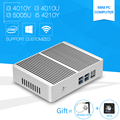 Mini pc i3 5005u windows10 core 4010y 4010u dual core mini romper Ordenador con i5 4210Y Pequeño Escritorio Hdmi Wifi Usb 3.0