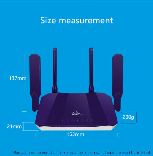 Image 4 - Wireless Wifi Routers 300Mbps Indoor LTE Router 4 Antenna full range of signal-in Wireless Routers from Computer & Office