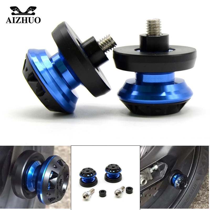 8mm Stand Screw Swingarm Spool Slider Motorcycle For SUZUKI SFV650 Gladius 2009-2014 GSF Bandit1250/S 2007-2008 GSF 1250s Bandit