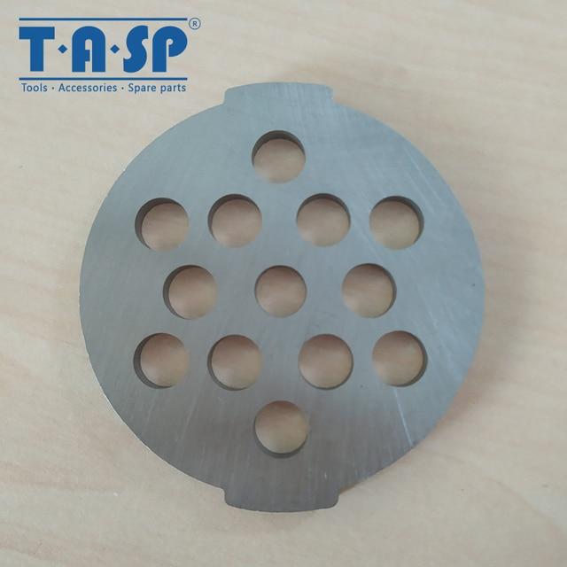 Repuestos para amoladora de carne de entramado Placa de picadora de 7mm celda para Moulinex HV2 HV3 HV4 HV6 aparato de cocina