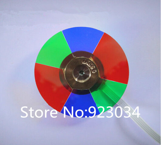 Wholesale Projector Color Wheel for Infocus SP5700 Free shipping replacement projector color wheel fit for infocus sp5700