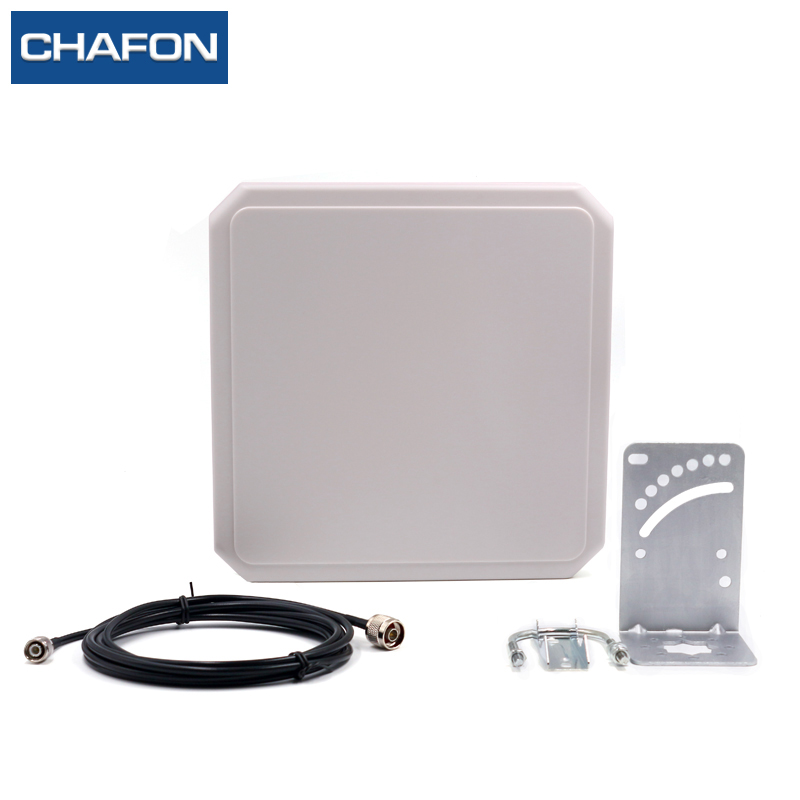 IP65 ABS Uhf Rfid Antenna Circular Type With 9dBi Gain For Sports Timing System