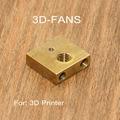 1 шт. 3D принтер Ultimaker 3 UM3 Печатный сердечник Тепловой Блок латунный нагревательный блок для Ultimaker3 для 3D принтера