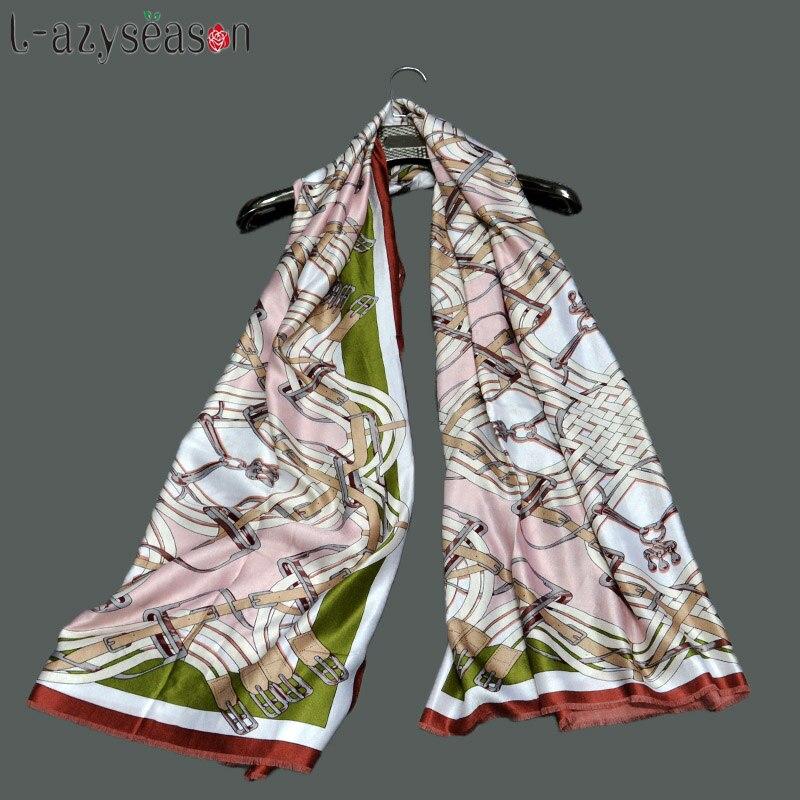 2018 New Fashion Autumn Winter   Scarf   Women Brand Bandana Luxury Pashmina Foulard Femme   Scarves     Wraps   for lady shawls