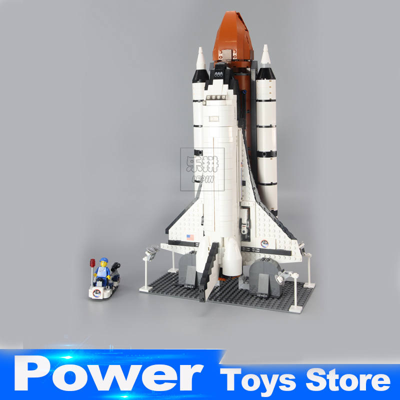 2017 New 16014 1230Pcs Space Shuttle Expedition Model Building Kits Blocks Bricks Toys For Children Gift Compatible With 10231 building blocks super heroes back to the future doc brown and marty mcfly with skateboard wolverine toys for children gift kf197