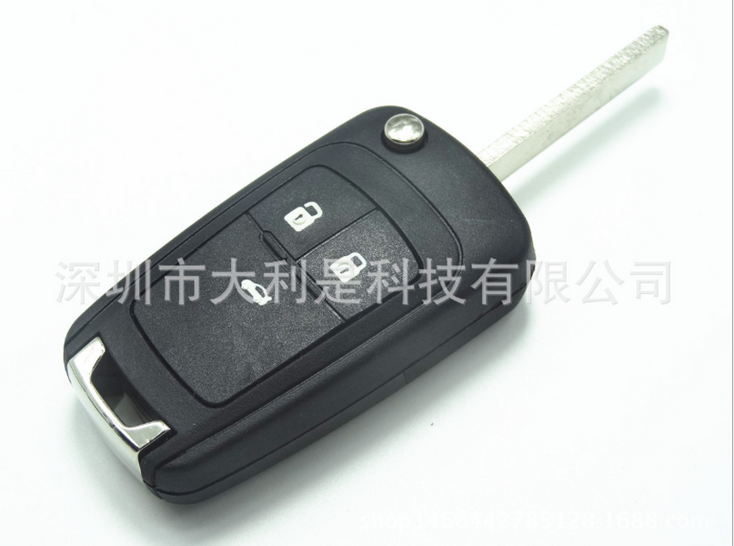 by DHL or Fedex 100pcs Flip key Folding Remote 2 3 4 Button Car Key Fob