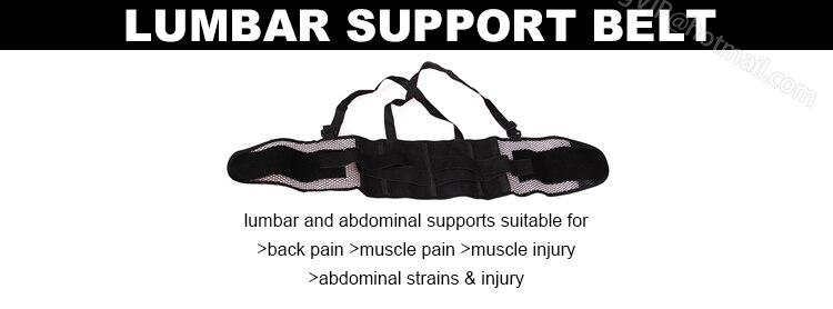 2014 Beliebte atmungsaktive Taillenbandage Linderung Rückenschmerzen - Sportbekleidung und Accessoires - Foto 6