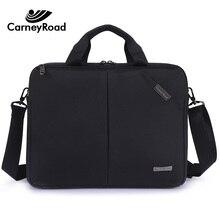 Carneyroad עסקים אוקספורד תיק גברים נשים 13 14 אינץ מחשב נייד Hangbags מזדמן מסמך משרד שקיות עמיד למים נסיעות שקיות