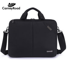 Carneyroad Business Oxford briefcase Men Women 13 14 Inch Laptop Hangbags Casual Document Office Bags Waterproof Travel Bags(China)