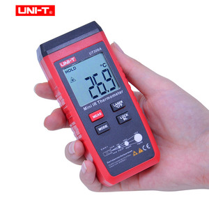 Image 2 - UNI T UT306A Mini Infrared Thermometer  35~300C  31~572F Digital IR temperature tester with Data hold & LCD backlight display