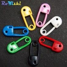 """11/1"""" пластиковые разноцветные булавки для этикеток, амулеты с креплением для детского душа"""