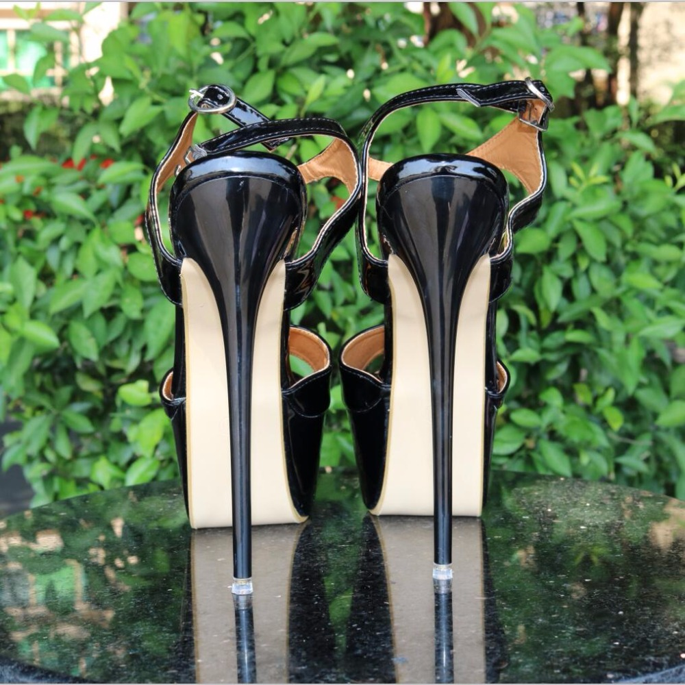 Peep Toe 16cm High Heels Sandals Women Shoes